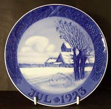 royal copenhagen collector plates ebay