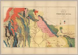 Utah Idaho Map by Geological Map Of Portions Of Wyoming Idaho And Utah David