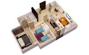 3d floor plan cgtrader