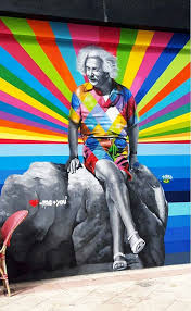 Makeup Artist In West Palm Beach Einstein By Eduardo Kobra West Palm Beach U003d Me You2 Arte