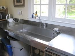 kitchen sink and counter sink as work surface designed by a cook improvised life