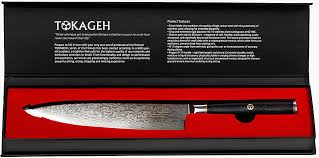 carbon steel kitchen knives for sale tokageh gyutou knife 8 inch damascus steel vg10