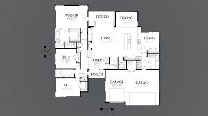 Empty Nest Floor Plans Mascord House Plan 1245 The Riverside