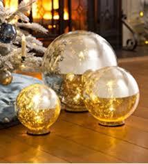 mercury glass ball lights amazon com large lighted mercury glass globe 12 dia home kitchen