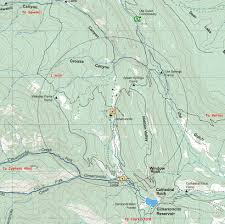 Philmont Scout Ranch Map Cimarroncito Camp