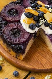 blueberry pineapple upside down cake dinner at the zoo