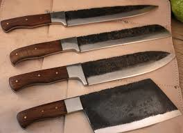 carbon steel kitchen knives damascus steel kitchen knives carbon steel chef knife jegger com au