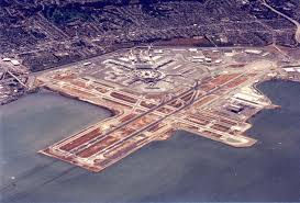 San Francisco International Airport Map by Los Angeles Klax A Crisp View Above Lax From A C 172 In The Lax
