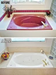 Fiberglass Or Acrylic Bathtub Can U0027t Afford A New Shower Pan Refinish It Painted Fiberglass