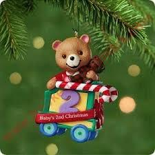 2001 babys second christmas hallmark ornament