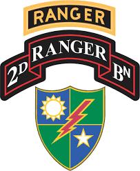 Army Ranger Flag Battalion 75th Ranger Regiment With Ranger Tab Decal