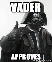 Darth Vader Meme Generator - vader approves darth vader approved meme generator