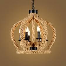 lighting fictures industrial 6 light industrial look lighting fixtures rope