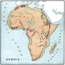 Labeled Africa Map by Us Physical Map Rivers Map Usa