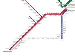 Baltimore Subway Map by This Map Puts A Modern Twist On Virginia U0027s Old Railroads U2013 Greater