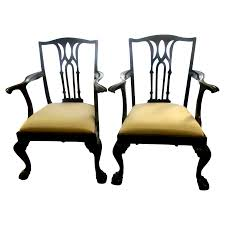 Chippendale Dining Room Chairs by Set 8 Chippendale Mahogany Centennial Dining Chairs From Front