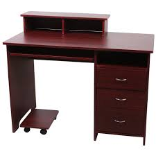cherry wood kids desk outstanding cecile cherry finish kids student computer desk hutch