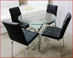 round glass dining table set for 4 inspirational dining small