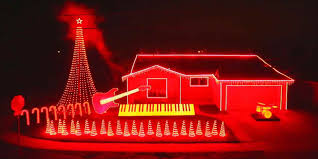 The Best Christmas Light Displays by Dut Red Christmas Lights On House Miss Some Of The Best Holiday