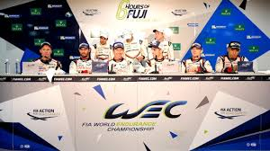 2017 wec 6 hours of fuji overall winners press conference