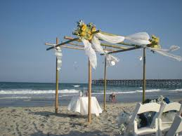 bamboo chuppah chuppah on the coastal weddings and events