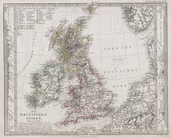 Map Of England And Ireland by File 1862 Stieler Map Of The British Isles England Ireland