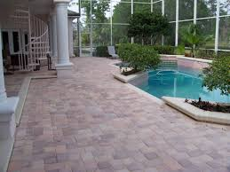 Thin Patio Pavers Pool Patio With Pavers Orlando Fl Pool Pavers Thin Pavers