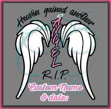 wings svg heaven rip baby god memory heaven