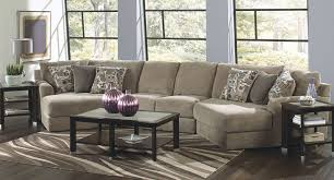 couch taupe malibu modular sectional w piano wedge taupe sectionals