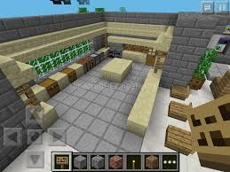 minecraft modern kitchen designs minecraft pocket edition maple kitchen cabinets and wall color