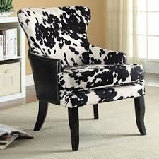 White Accent Chair Black And White Accent Chair Visualizeus
