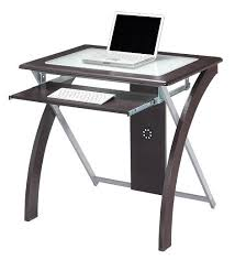 Glass Top Computer Desk Ikea Brilliant Small Glass Top Computer Desk Within Inspirations 8