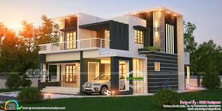 contemporary home design by ssqr designers kerala home design