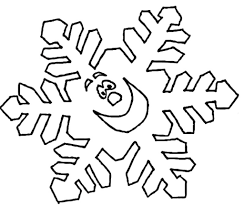 snowflake coloring page christmas snowflakes coloring pages