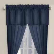 Blue Curtain Valance Navy Blue Curtains Valance Wayfair