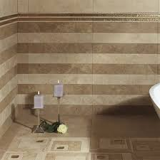 decoration ideas fancy tile designs for bathroom with cream