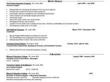 Free Combination Resume Template Free Resume Templates For Open Office 81 Interesting Resume