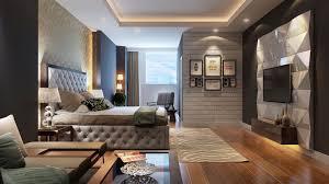 bedroom expressively designed bedroom features dark blue soft