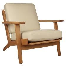 Hans Wegner Plank Sofa Hans Wegner Plank Arm Chair Replica In Leather Hans J Wegner