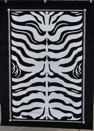 Black Striped Rug Black And White Striped Rug