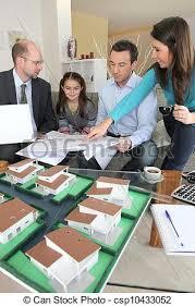 famille bureau architecte famille bureau séance images de stock