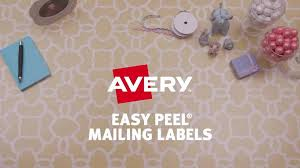 avery 5630 clear laser 1x2 5 8 easy peel address labels quill com