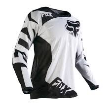 white motocross gear fox racing 2016 180 race airline jersey white available at