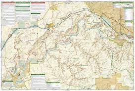 Grand Junction Colorado Map by Grand Junction Fruita National Geographic Trails Illustrated Map