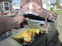 installing new boat seats hunt ducks hook fish