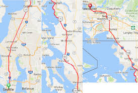 Seattle Terminal Map by Seattle Vancouver High Speed Rail Part 2 Everett To Bellingham