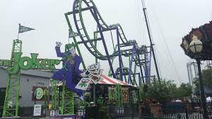 Six Flags New Jersery The Joker Roller Coaster Opens At Six Flags New England Nbc