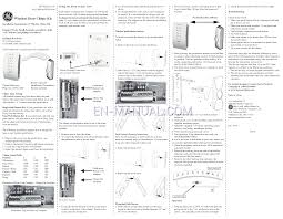 byron doorbell manual u0026 byron hb702 100m mp3 wireless door chime