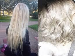 silver blonde haircolor silver hair dye on blonde hair nail art styling