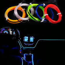 Led Strip For Car Interior Beler Car Strip Light 2m El Wire Flexible 12v Interior Cold Light